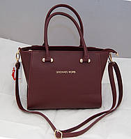 Женская сумка Michael Kors, цвет бордовый Майкл Корс MK, фото 1