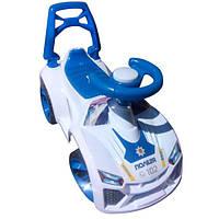 Машинка для катания ЛАМБО белая ОРІОН 021