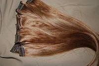 Волосы славянские на заколках (клипсах) русые, фото 1