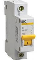 Автоматичний вимикач ВА 47-100 1Р 50А 10 кА характеристика D ІЕК