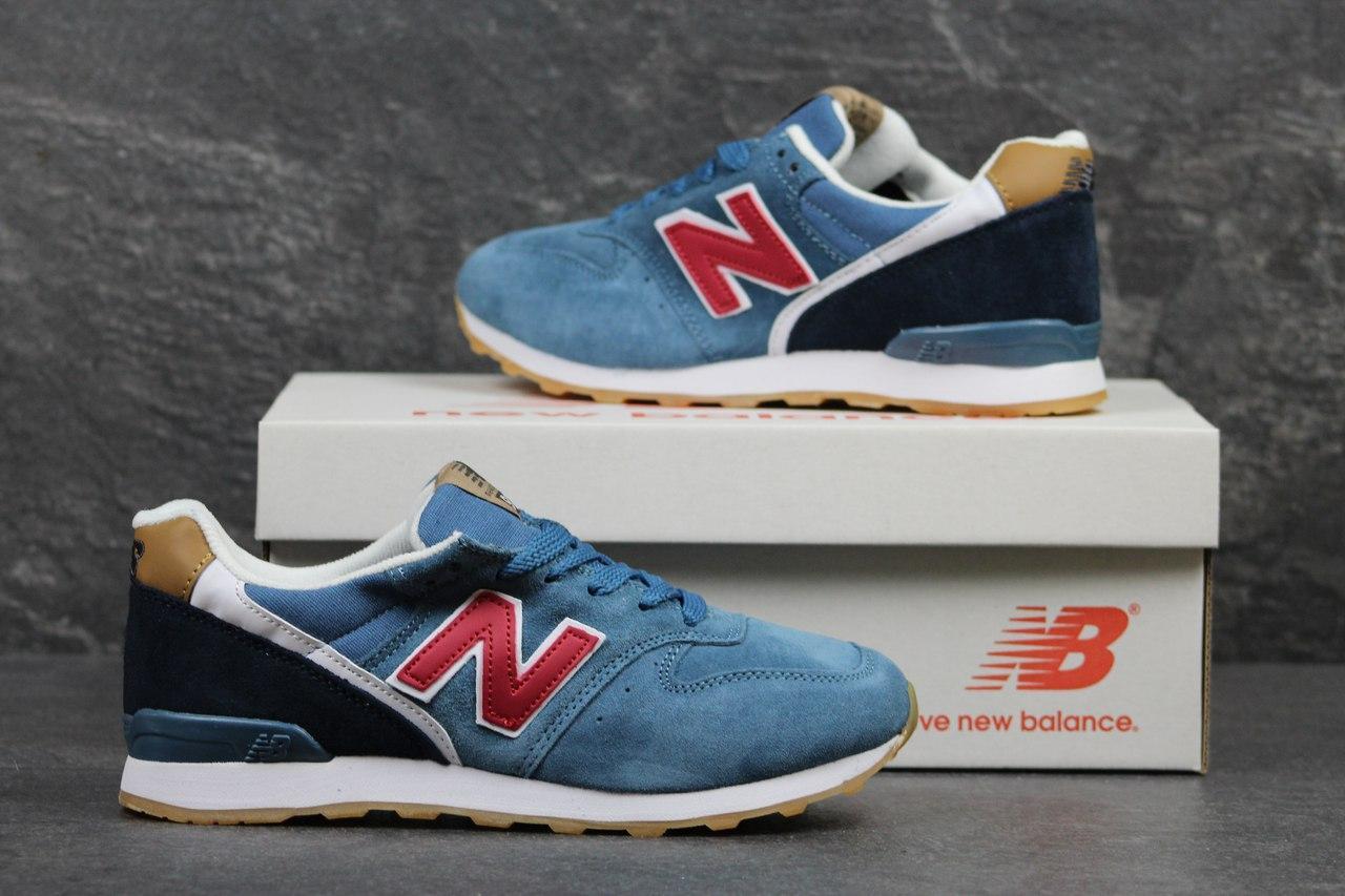 Подростковые кроссовки New Balance 996 голубые 37р - Интернет-магазин Дом  Обуви в Хмельницком f76d276d169