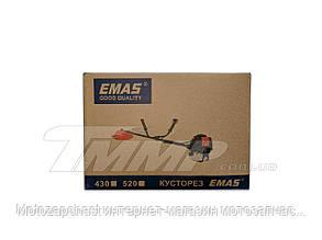 Бензокоса EMAS CG520 (Нож 3Т, шпуля пластиковая, лямка, набор инструментов , бутылка для смешивания )