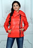 Женская теплая куртка на синтепоне осень-зима с 42 по 52р.