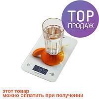Весы кухонные электронные до 5 кг Mesko MS 3156/весы для продуктов