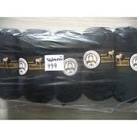 Турецкая  пряжа для вязания  Madame Tricote   MERİNO GOLD 400 (мерино голд ) меринос 60% шерсть - 999 черный