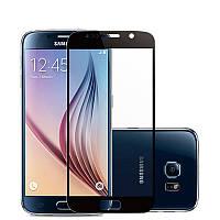 Закаленное защитное 3D стекло (на весь экран) для Samsung Galaxy J3 (2017) J330 (Черное)