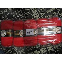 Турецкая  пряжа для вязания  Madame Tricote MERİNO GOLD 400 (мерино голд )меринос 60% шерсть - 032 яркий алый