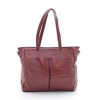 Женская кожаная сумка 62322 red