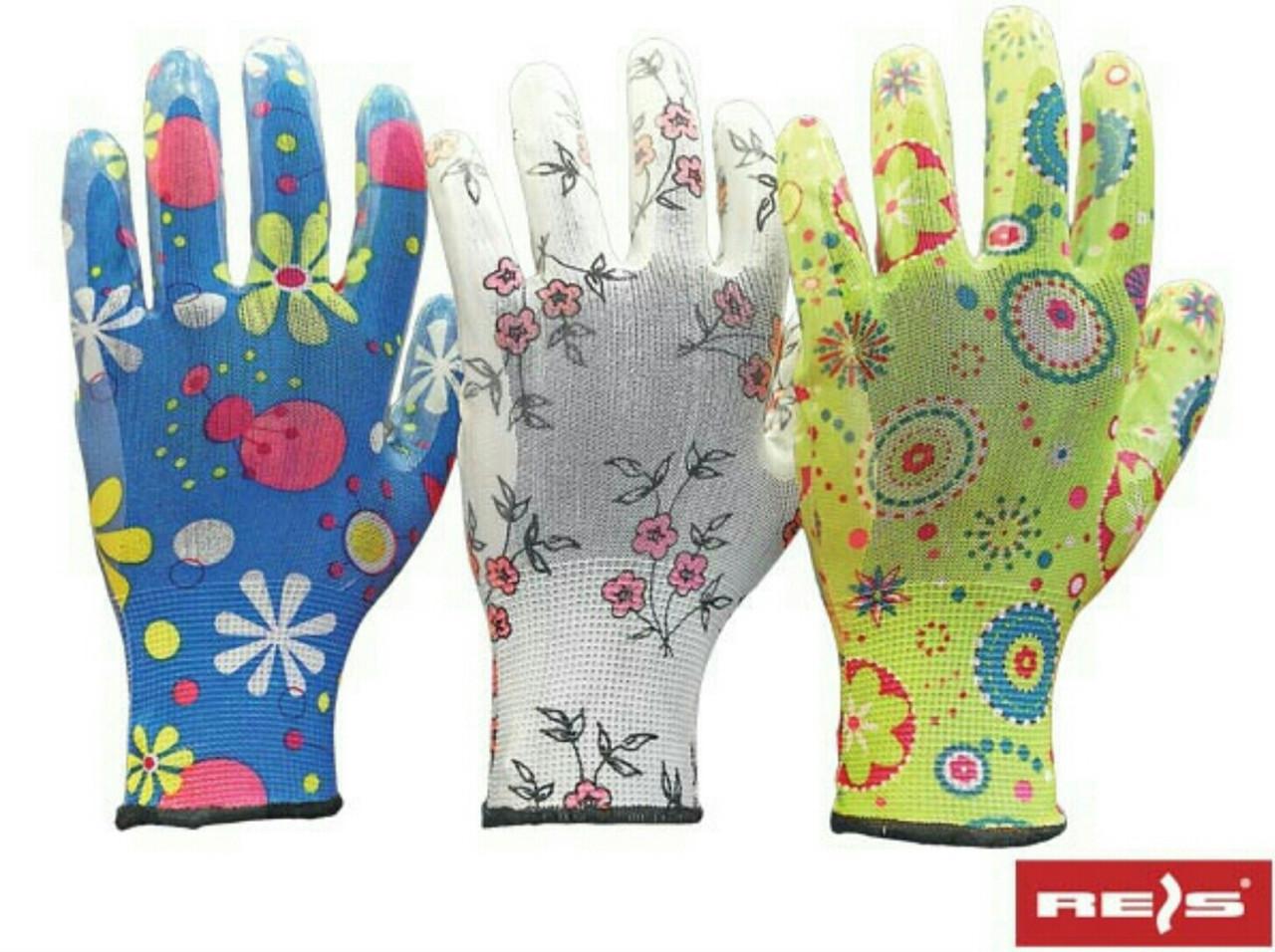 Перчатки  садовые RGARDEN-NI MIX