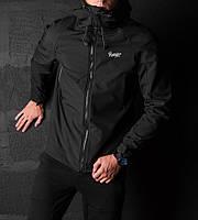 Стильная мужская куртка Pobedov Soft Shell Jacket (Black)