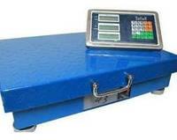 Весы торговые с беспроводным wi-fi экраном 600кг 50/40см (Аккумулятор)