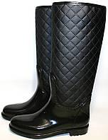 Резиновые сапоги женские Valex с молнией., фото 1