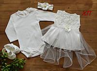 Очень красивый набор для девочки на крещение, на праздник Турция