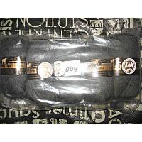Турецкая  пряжа для вязания  Madame Tricote MERİNO GOLD 400 (мерино голд )меринос 60% шерсть -009 темно-серый