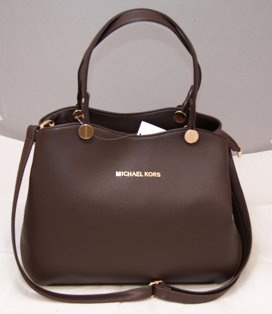 f5c22f1e509e Женская сумка Michael Kors, цвет коричневый шоколад Майкл Корс MK ...