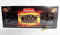 Черный шоколад Dolciando Cioccolato Extra Fondete Италия 500 гр