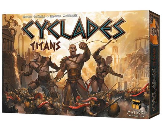 Настольная игра Cyclades Titans (Киклады Титаны), фото 2