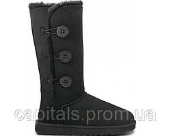 "Женские сапоги UGG Bailey Button Triplet ""Black"""