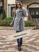 Пальто женское (кашемир+подкладка) мод.243