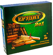 Настольная игра Эрудит 2 в 1 (Ерудит 2 в 1)