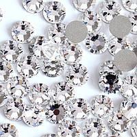 Стразы стекло белые для дизайна ногтей №4, 1440 шт