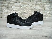 Кроссовки мужские Найк Nike Lab Air Force 1 Mid Leather. ТОП Реплика ААА класса., фото 2