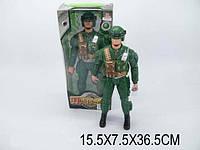 Солдат со светом HN634A пластик.