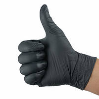 Черные Нитриловые Перчатки