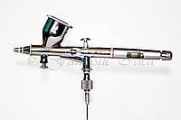 Аэрограф профессиональный металлический 0.25мм, FENGDA, фото 1