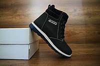 Детские зимние ботинки Ecco Синие 10500 Размер:  30,31,32,33,34,35;