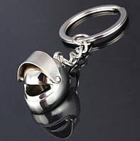 Брелок у вигляді шолома мотоциклетного метал SKU0000829, фото 1