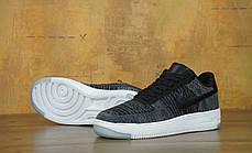 Кроссовки мужские Найк Nike Air Force 1 Low Ultra Flyknit Dark Grey. ТОП Реплика ААА класса., фото 3