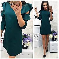 Платье 783/2 темно-зеленый