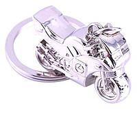 Брелок в виде спортивного мотоцикла 3D металл SKU0000831