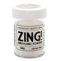 Пудра для ембосингу - Zing! - White