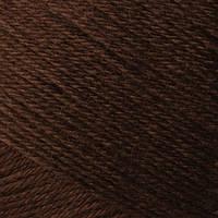 Турецкая  пряжа для вязания  Madame Tricote   MERİNO GOLD 400 (мерино голд ) меринос 60% шерсть - 083 кофе
