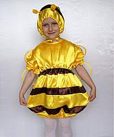 """Карнавальный костюм """"Пчёлка"""" желтый, рост 95-120"""