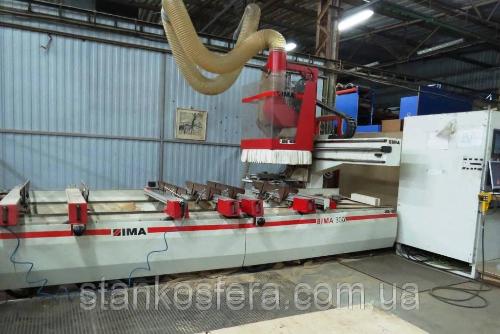 Обрабатывающий центр с ЧПУ Bima 300/125/330 б/у 2008 г. фрезерно-сверлильный