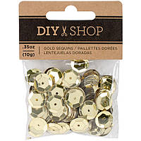 Паєтки - DIY Shop 4 - Gold - 10 г