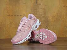 Кроссовки женские Найк Nike Air Max Plus TN Pink. ТОП Реплика ААА класса., фото 3