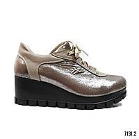 Женские летние туфли на платформе модель 7131.2 (39)
