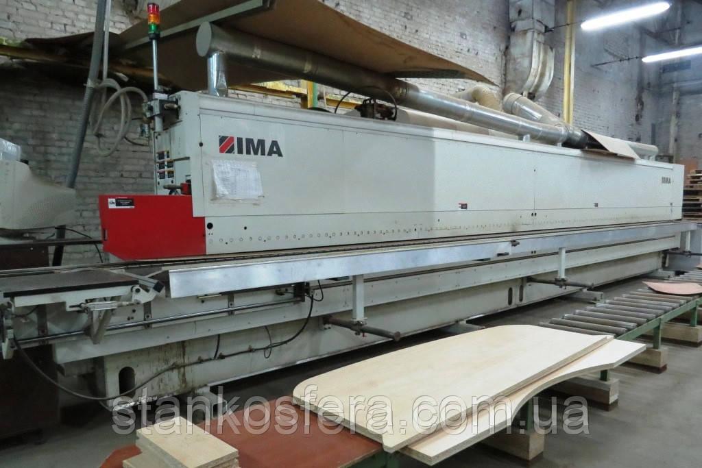 Кромкооблицовочный станок бу IMA Novimat/I/G80/440/R3 с полным циклом обработки кромки, 2007 г/в. (Германия)