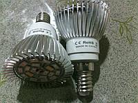 Светодиодная фито лампа для роста растений, полный спектр, Е14