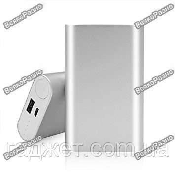 Портативное зарядное устройство Xiaomi Mi Power Bank 10000mAh Silver , фото 2