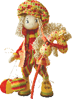 "Набор для шитья Текстильная каркасная кукла ""Шалун"""