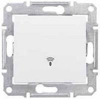 Выключатель одноклавишный кнопочный Звонок, белый Sedna Schneider Electric SDN0800121
