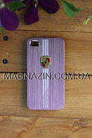 "Чехол iPhone 4, ""Porsche"" rose"