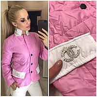 Женская куртка теплая Шанелька, фото 1