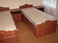 Кровати для турбазы на металлическом каркасе