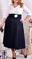 """ПП Украина Платье  большого и маленького размера """"Линси"""" от 46 до 74 размер"""